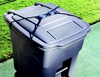 Raccoon Proof Garbage Cans, Dog Proof Garbage Cans, Animal