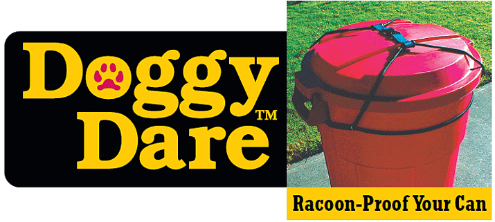 Raccoon Proof Garbage Cans Dog Proof Garbage Cans Animal Proof Garbage Cans By Doggy Dare